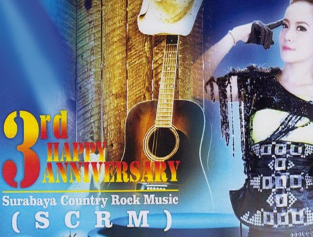 3rd Happy Anniversary Surabaya Country Rock Music