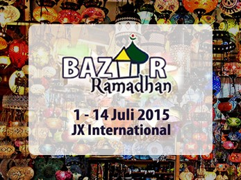 Bazar Ramadhan di JX International