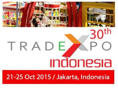 Trade Expo Indonesia 2015. 21 - 25 Oktober 2015